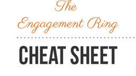 Who's that girl? The Engagement Ring Cheat Sheet