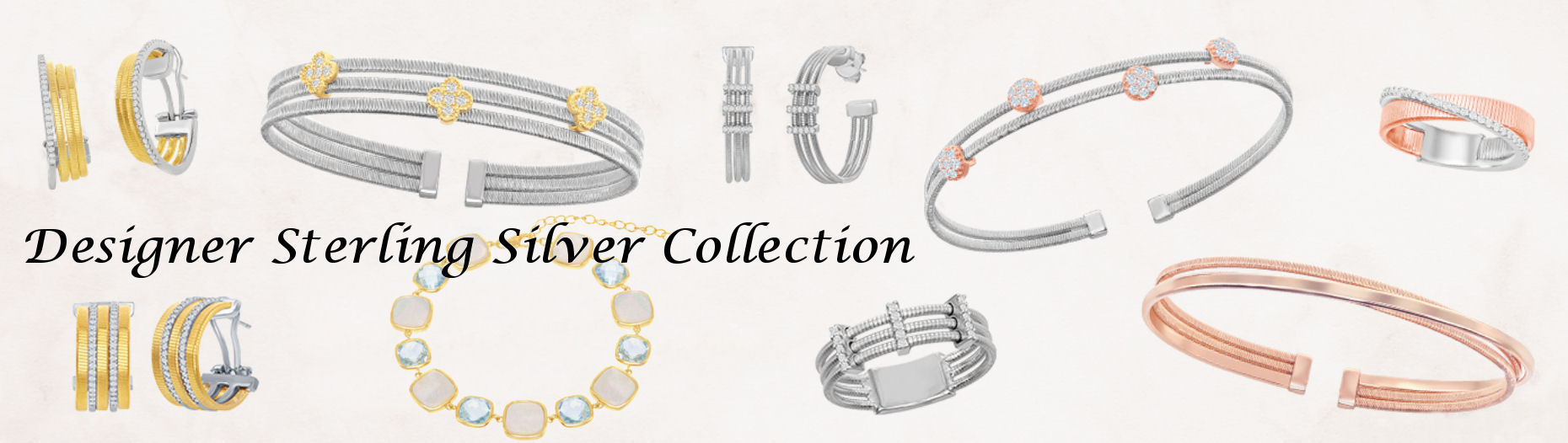 Designer Sterling Silver Collection