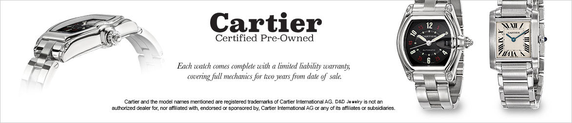 Cartier Pre-Owned Watches